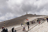early breakaway group up the famed Mont Ventoux<br /> <br /> Stage 11 from Sorgues to Malaucène (198.9km)<br /> 108th Tour de France 2021 (2.UWT)<br /> <br /> ©kramon