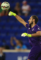 Harrison, NJ. - Tuesday, July 21, 2015: Paris Saint Germain defeated Fiorentina 4-2 in a ICC match at Red Bull Arena.