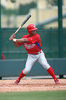 August 12, 2008: Arlon Quiroz of the GCL Phillies.  Photo by: Chris Proctor/Four Seam Images