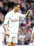 Real Madrid's Cristiano Ronaldo during La Liga match. February 18,2017. (ALTERPHOTOS/Acero)