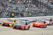 #18: Ryan Preece, Joe Gibbs Racing, Toyota Camry Craftsman and #19: Brandon Jones, Joe Gibbs Racing, Toyota Camry Menards Atlas