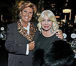LELLA BERTINOTTI E MARISA STIRPE<br /> CHARITY DINNER VILLA LETIZIA 2009 ORGANIZZATO DA EMMA BONINO