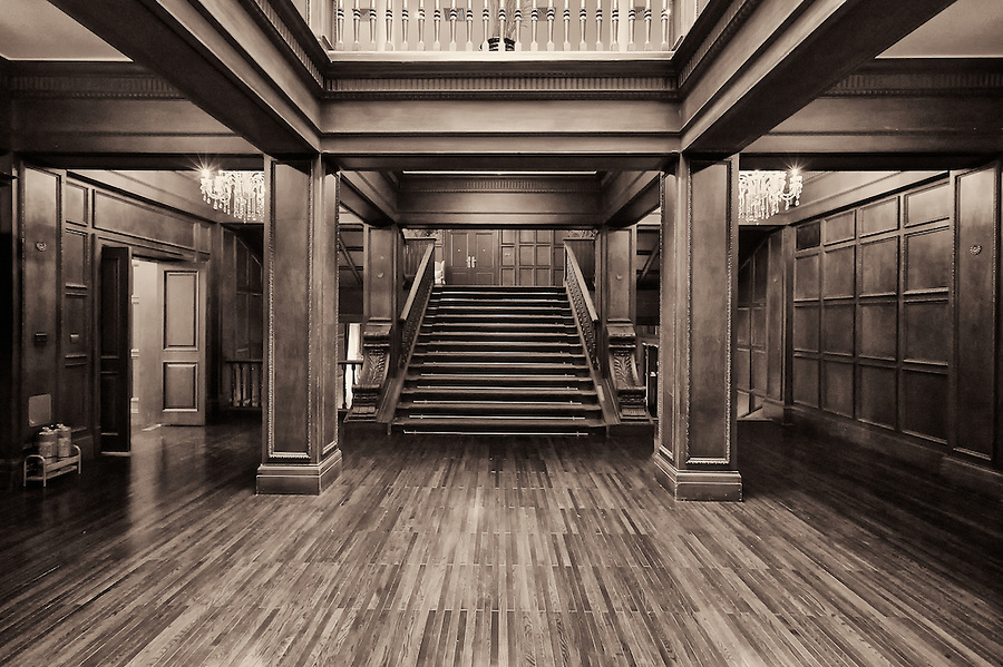 Main Entrance Hall, The TY Club In Tianjin (Tientsin).