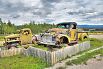 Old trucks from the construction of the Canol Road during WW2. Norman Wells NWT.