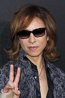 HOLLYWOOD, LOS ANGELES, CA, USA - MARCH 20: Yoshiki, Yoshiki Hayashi at the 2nd Annual Rebels With A Cause Gala Honoring Larry Ellison held at Paramount Studios on March 20, 2014 in Hollywood, Los Angeles, California, United States. (Photo by Xavier Collin/Celebrity Monitor)