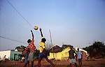 Play is important in the rehabilitation of these young men.Nagapattinam.India.