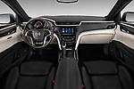 Dashboard view of a 2013 Cadillac XTS Platinum sedan