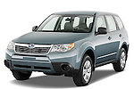 Front three quarter view of a 2009 Subaru Forester.