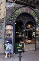 """Europe/Espagne/Catalogne/Barcelone : Pâtisserie """"Escriba"""" sur la Rambla"""