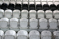 General view of empty seats ahead of Arsenal Women vs Manchester City Women, FA Women's Continental League Cup Football at Meadow Park on 29th January 2020
