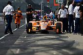 Verizon IndyCar Series<br /> Indianapolis 500 Practice<br /> Indianapolis Motor Speedway, Indianapolis, IN USA<br /> Wednesday 17 May 2017<br /> Fernando Alonso, McLaren-Honda-Andretti Honda<br /> World Copyright: Scott R LePage<br /> LAT Images<br /> ref: Digital Image lepage-170517-indy-7003