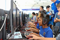 SAN JOSE, CA - AUGUST 03: esports  prior to a Major League Soccer (MLS) match between the San Jose Earthquakes and the Columbus Crew on August 03, 2019 at Avaya Stadium in San Jose, California.