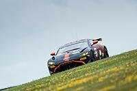 Matt Topham & Darren Turner, Aston Martin Vantage AMR GT4, Newbridge Motorsport claimed pole position for the GT4 championship during the British GT & F3 Championship on 10th July 2021