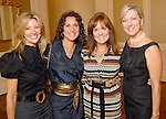From left: Nancy Troxel, Cindy Gerson, Angela Poujol and Susan Horne at the SPA Luncheon at the River Oaks Country Club Thursday Oct. 15,2009. (Dave Rossman/For the Chronicle)