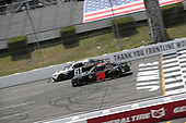 #61: Timmy Hill, Hattori Racing Enterprises, Toyota Camry ROOFCLAIM.COM  #74: Bayley Currey, Mike Harmon Racing, Chevrolet Camaro Mutt & Jeff Porkskins Inc