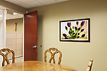 Framed photographic print at a real estate office in Henderson, Nevada.