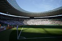 19.05.2018, Olympiastadium, Berlin, GER, DFB-Pokal, Finale FC Bayern Muenchen vs Eintracht Frankfurt<br /> , <br />Frankfurter Fankurve *** Local Caption *** © pixathlon<br /> Contact: +49-40-22 63 02 60 , info@pixathlon.de