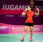 Olivia Meier, Lima 2019 - Para Badminton // Parabadminton.<br /> Olivia Meier competes in Para Badminton // Olivia Meier participe à Para Badminton. 29/08/2019.