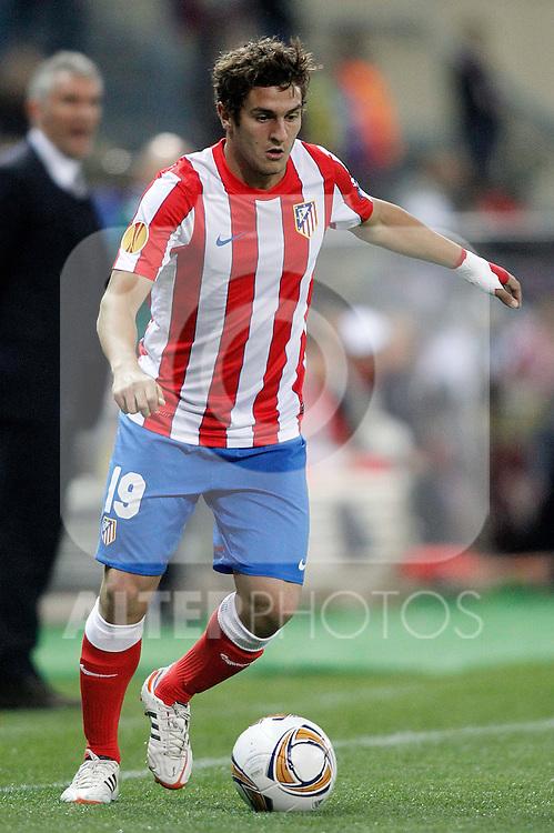 Atletico de Madrid's Koke during UEFA Europa League Match. March 29, 2012. (ALTERPHOTOS/Alvaro Hernandez)
