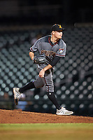 Salt River Rafters pitcher Gabe Speier (26), of the Arizona Diamondbacks organization, during a game against the Mesa Solar Sox on October 22, 2016 at Sloan Park in Mesa, Arizona.  Salt River defeated Mesa 7-2.  (Mike Janes/Four Seam Images)