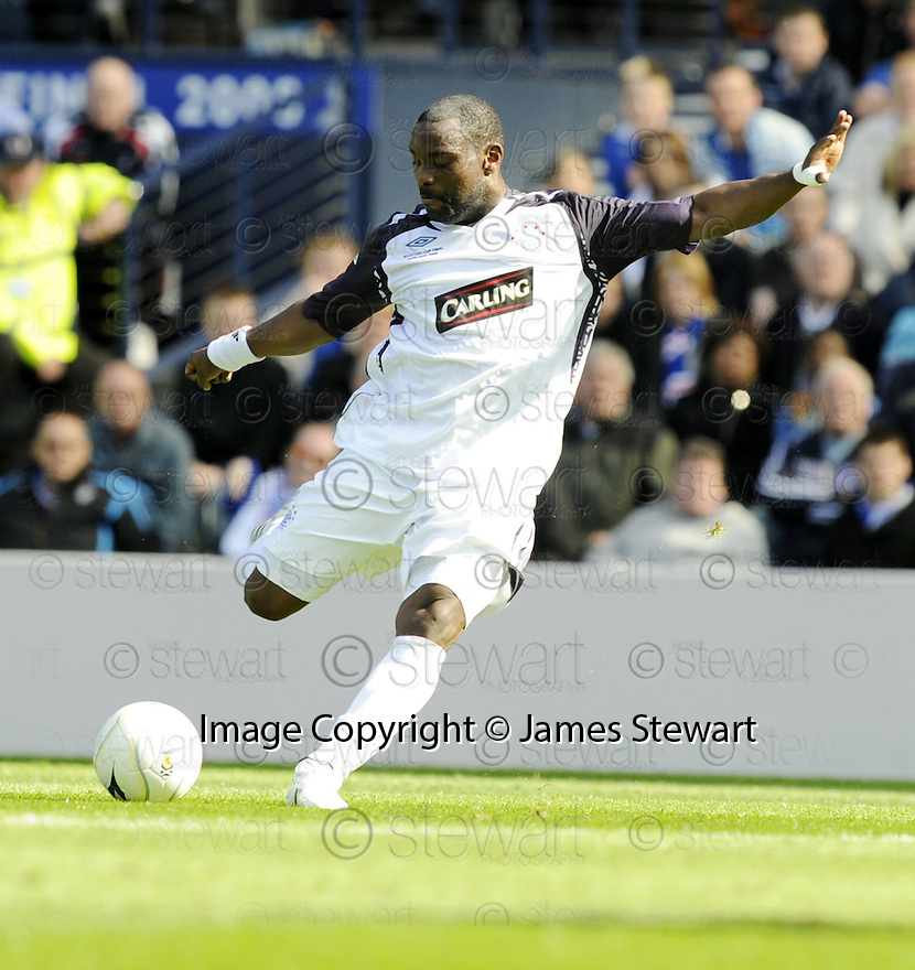 24/05/2008   Copyright Pic: James Stewart.File Name : sct_jspa37_qots_v_rangers.JEAN-CLAUDE DARCHEVILLE.James Stewart Photo Agency 19 Carronlea Drive, Falkirk. FK2 8DN      Vat Reg No. 607 6932 25.Studio      : +44 (0)1324 611191 .Mobile      : +44 (0)7721 416997.E-mail  :  jim@jspa.co.uk.If you require further information then contact Jim Stewart on any of the numbers above........