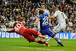 Real Madrid´s  and FC Shalke 04´s  during 2014-15 Champions League match between Real Madrid and FC Shalke 04 at Santiago Bernabeu stadium in Madrid, Spain. March 10, 2015. (ALTERPHOTOS/Luis Fernandez)