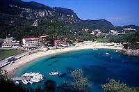 Greece.Corfu. Paleokastritsa Beach.