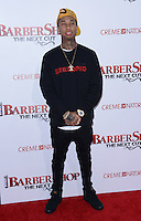Tyga @ the premiere of 'Barber Shop The Next Cut' held @ the Chinese theatre.<br /> April 6, 2016