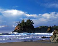 Scenic view of Trinidad State Beach. California.