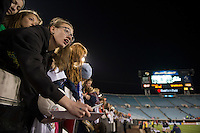 USWNT fans, EverBank field.  The USWNT defeated Scotland, 4-1, during a friendly at EverBank Field in Jacksonville, Florida.