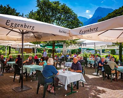Oesterreich, Oberoesterreich, Salzkammergut, Gruenau im Almtal: Gasthof Jagersimmerl  | Austria, Upper Austria, Salzkammergut, Gruenau im Almtal: hotel and restaurant Jagersimmerl