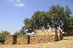 Israel, Upper Galilee,  the Israelite Gate in Tel Dan
