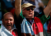 29th May 2021; Twickenham Stoop, London, England; English Premiership Rugby, Harlequins versus Bath; elated fans back at the Stoop after being forced to stay away for months because of Covid