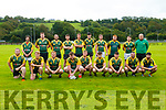 The Listowel Rugby team prior to their departure for Dingle on Sunday last.
