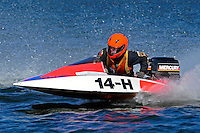 14-H (runabout)....Stock  Outboard Winter Nationals, Ocoee, Florida, USA.13/14 March, 2010 © F.Peirce Williams 2010