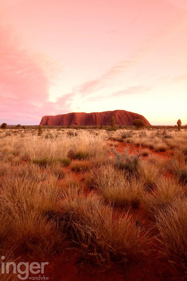 Sunrise at Uluru in the Red Centre, Australia
