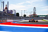 24th September 2021; Sochi, Russia; F1 Grand Prix of Russia free practise sessions;  33 VERSTAPPEN Max nld, Red Bull Racing Honda RB16B, action during the Formula 1 VTB Russian Grand Prix