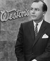 President Geo. Weston Ltd<br /> Griffin, Doug<br /> Picture, 1968