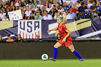 PHILADELPHIA, PA - AUGUST 29: Julie Ertz #8 of the United States during a game between Portugal and USWNT at Lincoln Financial Field on August 29, 2019 in Philadelphia, PA.