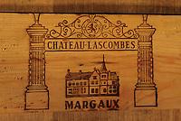 Europe/France/Aquitaine/33/Gironde: Chateau Lascombes (AOC  Margaux) - Les chais