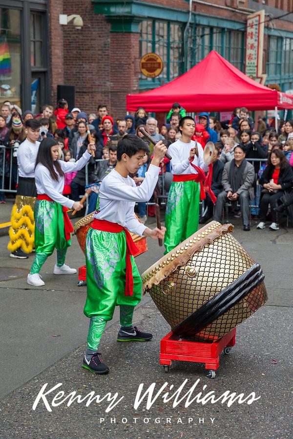 Chinese New Year 2019, Wing Luke Museum, Chinatown, Seattle, WA, USA.