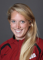 STANFORD, CA - OCTOBER 22:  Vee Dunlevie of the Stanford Cardinal during water polo picture day on October 22, 2009 in Stanford, California.