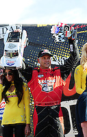 Dec. 10, 2011; Chandler, AZ, USA;  LOORRS pro 4 unlimited driver Carl Renezeder during round 15 at Firebird International Raceway. Mandatory Credit: Mark J. Rebilas-