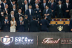 King Felipe VI of Spain during Spanish King's Cup Final match. May 30,2015. (ALTERPHOTOS/Acero)