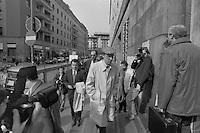 mani pulite 1992-1994, Milano, Tribunale, palazzo di giustizia, marzo 1994, Sergio Cusani