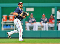 5 September 2011: Washington Nationals outfielder Rick Ankiel in action against the Los Angeles Dodgers at Nationals Park in Los Angeles, District of Columbia. The Nationals defeated the Dodgers 7-2 in the first game of their 4-game series. Mandatory Credit: Ed Wolfstein Photo