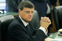 Bartolomeo Romano.CSM - Consiglio Superiore della Magistratura (Plenum) .Nomina del Vice Presidente.Roma, 2 Agosto 2010.Photo Serena Cremaschi Insidefoto