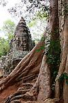 Victory Gate at Angkor Thom, Cambodia