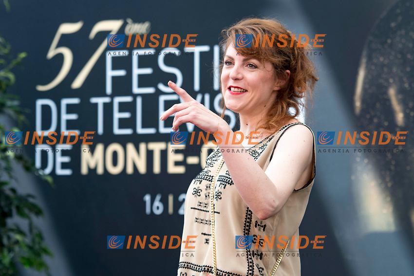 Anne Elisabeth Blateau (Scenes de menages) Monaco - 17/06/2017<br /> 57 festival TV Monte Carlo <br /> Foto Norbert Scanella / Panoramic / Insidefoto