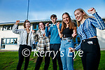 Mercy Mounthawk, Tralee students who achieved the maximum 625 points in the leaving certificate exam, from left: Kate Waldron, The Spa, Grainne Carmody, Tralee, Patrick Nolan, Ballyduff, Keela Hughes, Tralee Clara Carroll, Tralee.